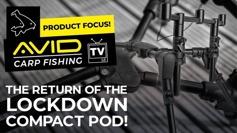 Avid Carp Fishing TV! | Product Focus! | The Return Of The Lok Down Compact Pod!