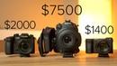 C200 vs GH5 vs A6500 Low Light Autofocus 4K 120 FPS Detail Comparison