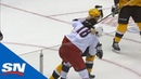Sidney Crosby Drops Gloves For Fight With Pierre Luc Dubois