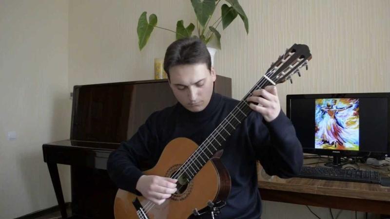 Vals a moll Guitar Sheet music скачать ноты в описании