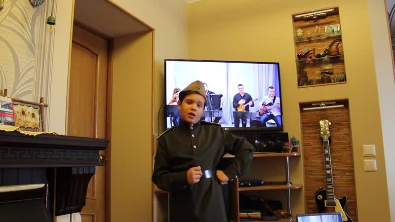 Катюша, с оркестром Лад поёт Александр Зенков, 9 лет, 3-й класс народного отделения ДШИ №3, солист ОФА Жемчужинка, г. Омск