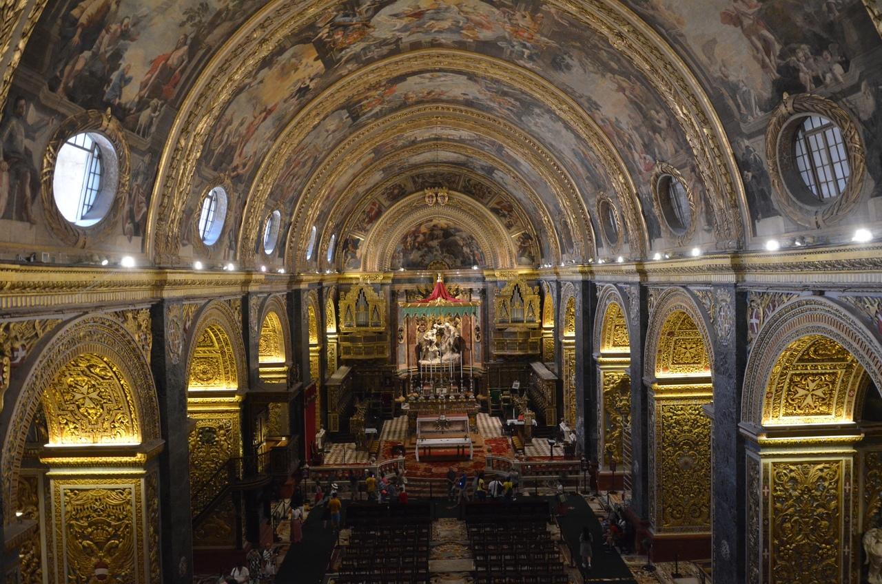 2l5WGPf8EI4 Собор св. Иоанна в Валлетте.