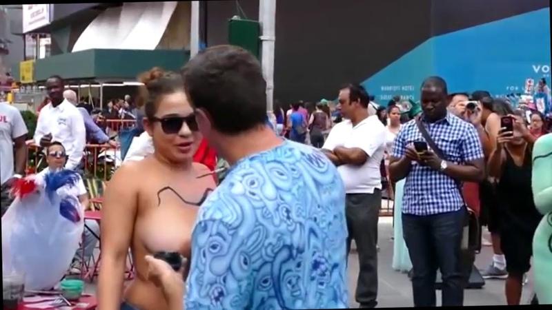 Городские нудисты бодиарт бодипайнт Вид искусства где голые люди разрисовывают тело