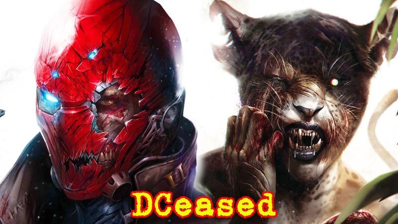 DCeased У кого иммунитет к вирусу Анти Жизни DC Comics