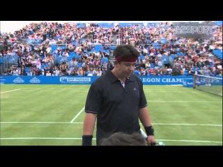Full Celebrity Charity Tennis Match Ft. Boris Johnson, Michael Macintyre, Jimmy Carr, Jonathan Ross