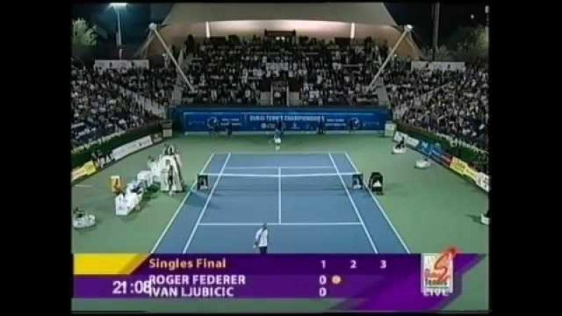 Roger Federer vs Ivan Ljubicic (2005 Dubai Tennis Championships - Final)
