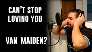 What if Bruce Dickinson sang for VAN HALEN?! - Can't Stop Lovin' You - Tribute to Eddie Van Halen
