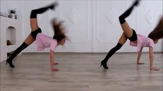 Dancing  strip plastic