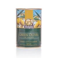 Оливки с косточкой в рассоле Superior 261-290 DELPHI 400/220г