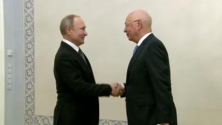 Владимир Путин: Россия и дальше будет принимать участие во Всемирном экономическом форуме в Давосе.
