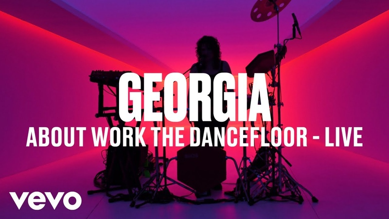 Georgia About Work The Dancefloor Live Vevo DSCVR