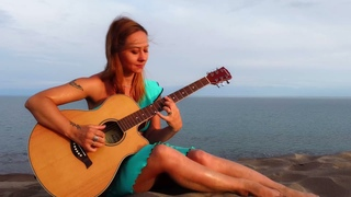 Говорят дельфины - из м/ф Девочка и дельфин | На гитаре | Ноты Табы