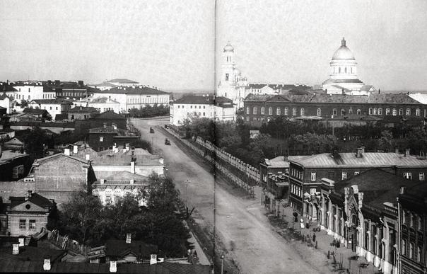 Вид на Симбирск. Дореволюционное фото.