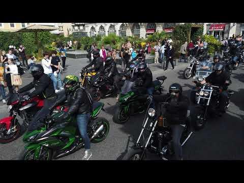 Manifestation motards Clermont Ferrand 2 octobre 2021