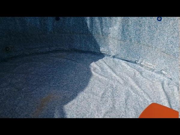 Чистка бассейна для съёмок эксперимента Иванова Ритмодинамика аудитория наблюдает Глобальная волна