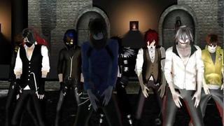 {MMD} Creepypasta  - Super Psycho Love