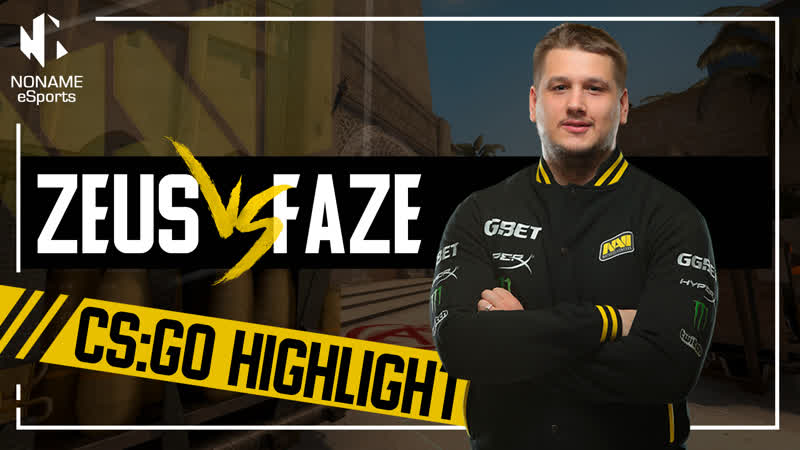 Zeus vs FaZe ELEAGUE Major 2018 Highlight