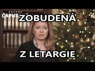 Pozrite čo hovorí Zuzana Čaputová