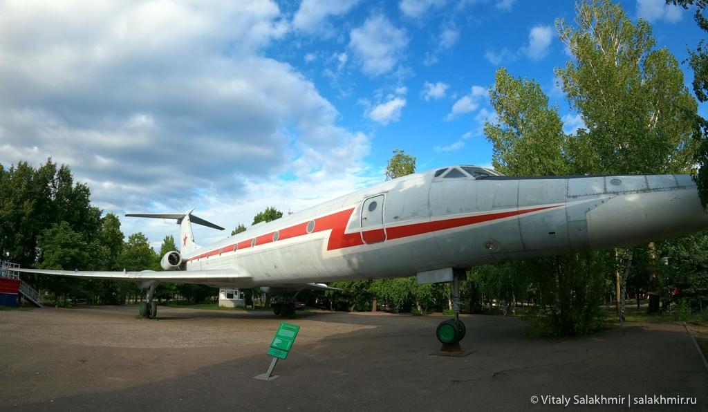 Самолет в Парке Победы, Саратов 2020