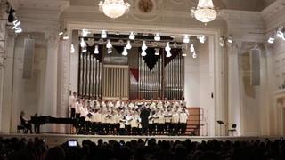 4. Концертный хор мальчиков и юношей Свердловского мужского хорового колледжа - XVII «УХС»