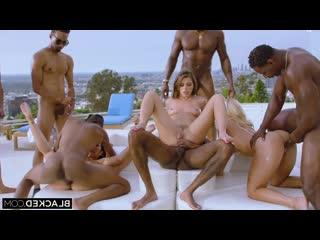 Teanna Trump, Vicki Chase  Adriana Chechik [IR, Gonzo, Anal, Gangbang, Hardcore, bbc, Big Black Cock, interracial, Cuckold]