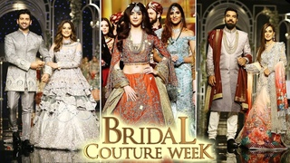 Bridal Couture Week | Part 2 | Fashion & Style | Textile Industry in Pakistan | Ramp Walk