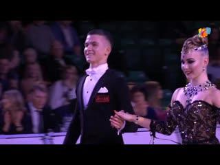 Кирилл Курбатов и Александра Ревель-Муроз - Чемпионы Мира 20149 по стандарту