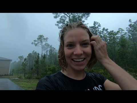@TrinaMason in the rain then to the hot bath tub April 10 2018 10 50am
