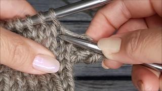 Лучший способ закрытия петель/Идеальный край для рукавов, горловины, низа изделия/Не закручивается!