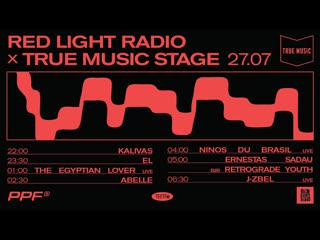Present perfect festival: red light radio x true music stage
