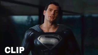 Black Suit Superman meets Alfred || Zack Snyder's Justice League