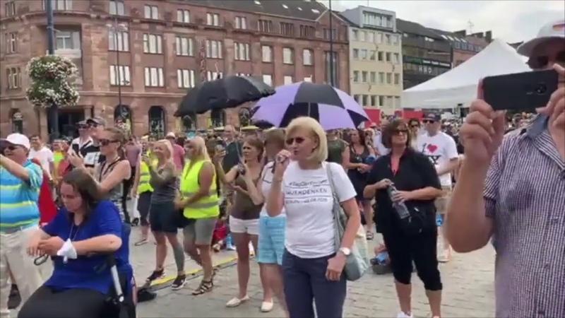 Demo Dortmund 09 08 20 Rede und Appell eines Kriminalhauptkommisars