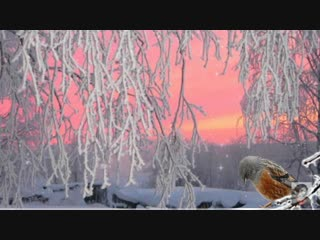 Зимняя мелодия - Волшебные снежинки.