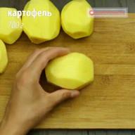 id_42091 Курица на шпажках в духовке с гарниром из картофеля 🍴  Автор: Appetitno TV  #gif@bon