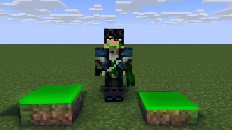 Mine-imator. Test sword 3
