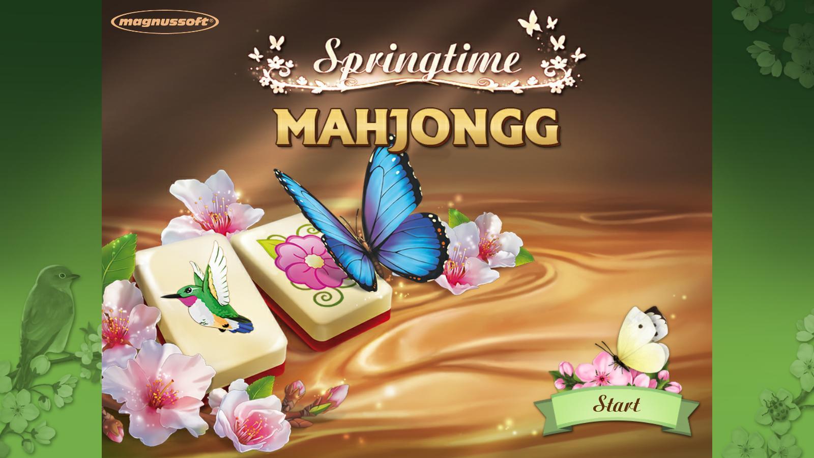 Весенний Маджонг | Springtime Mahjongg (En)