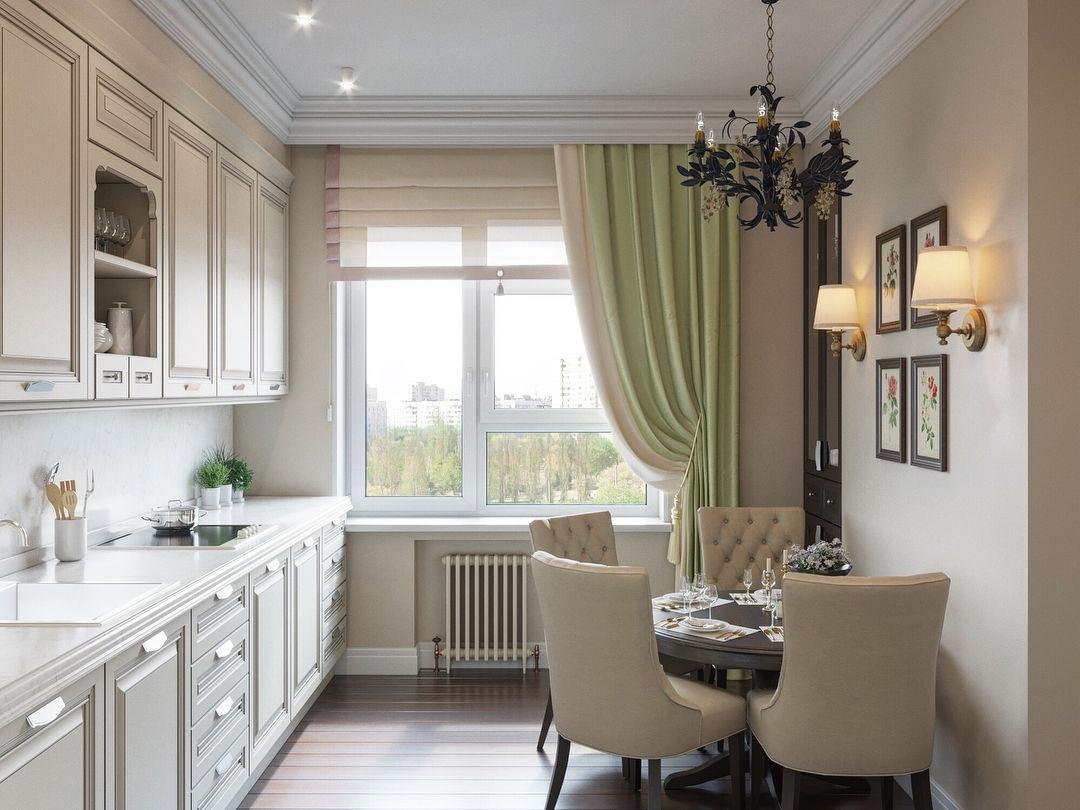 Дизайн-проект кухни в классическом стиле
