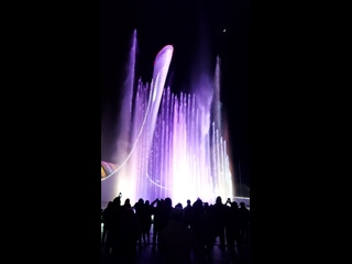Чаша олимпийского огня. Музыкальный фонтан