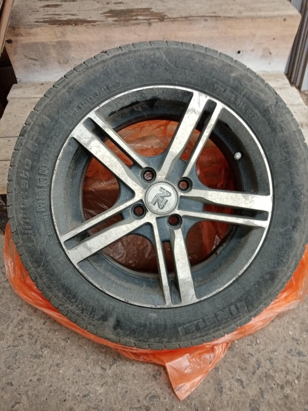 Купить полностью комплек шины и диски | Объявления Орска и Новотроицка №12222