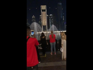 Бурдж Халиф и танцующие фонтаны и немножко со мной😊