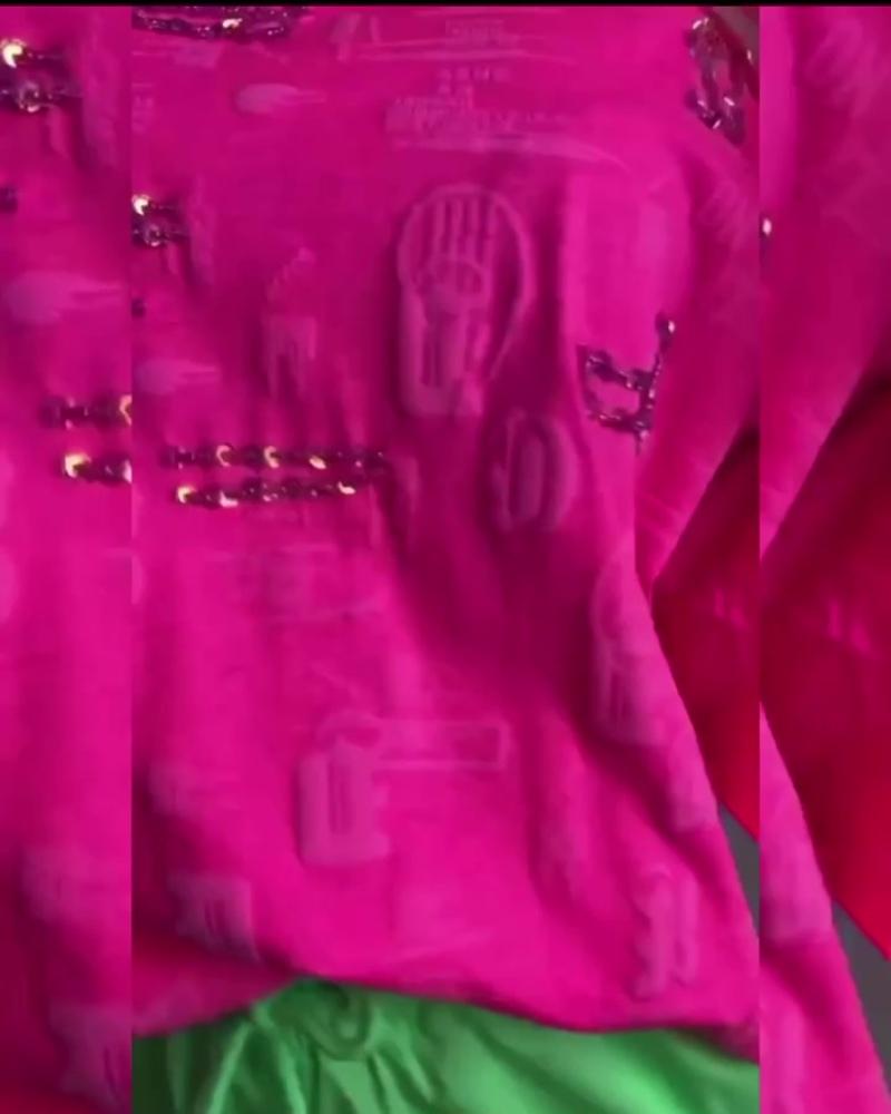 Кислотная футболка и штаны