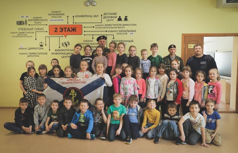Ветераны морской пехоты провели Урок мужества в Нижнем Новгороде