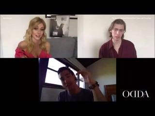 Katherine McNamara, Henry Zaga and Owen Teague discuss The Stand for #ODDAdigital [_YXtJh_JPHM]