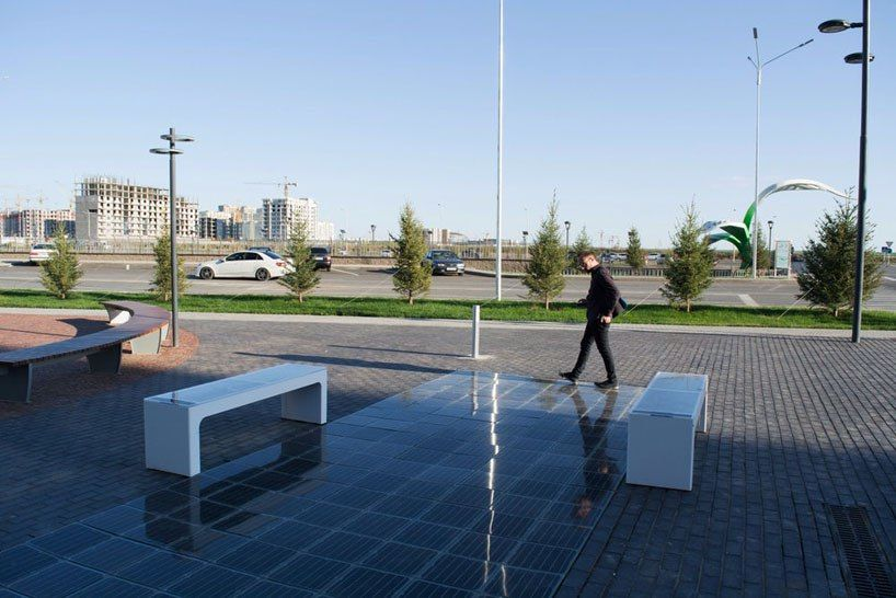 platio puts solar panels in street furniture and pedestrian walkways