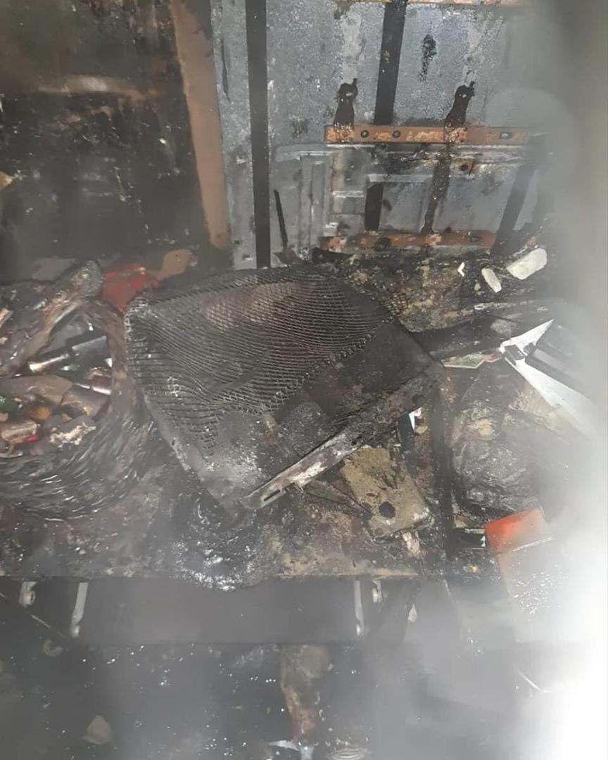 В одной из пятиэтажек Петровска рано утром сгорела квартира