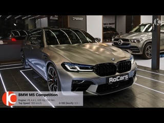 (2021) BMW M5 F90 Competition - Exhaust Sound Exterior and Interior In Detail (4K) | RoCars