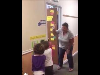 Замечательная учительница