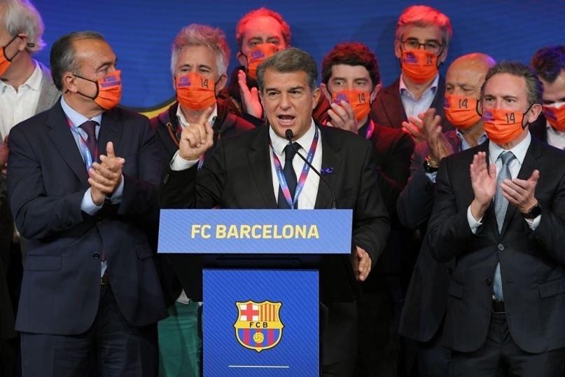 Жоан Лапорта: «Барселона должна вновь стать счастливой и устойчивой экономически...