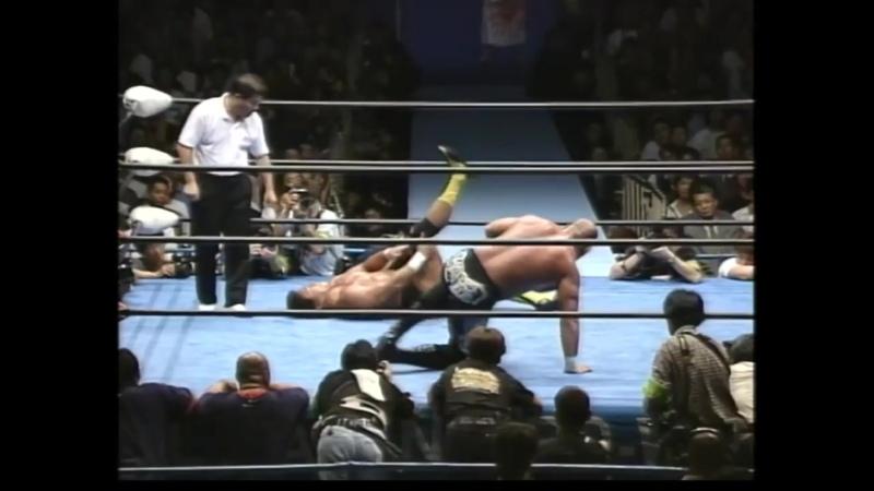 Геничиро Тенрю (c) vs. Кейджи Муто (08.06.2001)