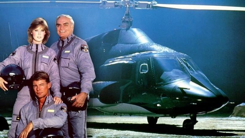 VHS Forever Воздушный волк сериал 1984